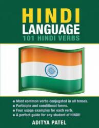 Hindi Language: 101 Hindi Verbs - Aditya Patel (ISBN: 9781619494015)