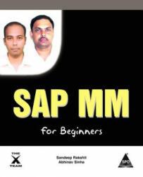 SAP MM for Beginners - Abhinav Kumar Sinha (ISBN: 9781619030466)