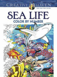 Creative Haven Sea Life Color by Number Coloring Book (2015)