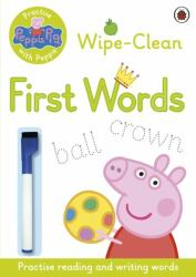 Peppa Pig: Practise with Peppa: Wipe-Clean First Words - Ladybird (2015)