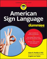 American Sign Language For Dummies with Online Videos - Adan R. Penilla (2016)