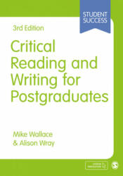 Critical Reading and Writing for Postgraduates (2016)