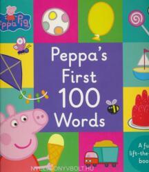 Peppa Pig: Peppa's First 100 Words - Peppa Pig (2016)