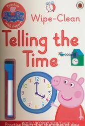 Peppa Pig: Practise with Peppa: Wipe-Clean Telling the Time - Peppa Pig (2016)