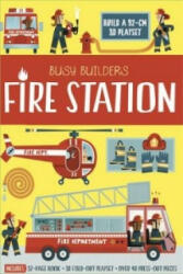 Busy Builders Fire Station, Hardcover (2016)