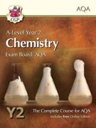 New 2015 A-Level Chemistry for AQA: Year 2 Student Book with Online Edition (2015)