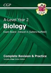 New 2015 A-Level Biology: Edexcel A Year 2 Complete Revision & Practice with Online Edition (2015)