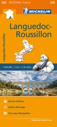 Languedoc-Roussillon - Michelin Regional Map 526. Map, Sheet Map (2016)
