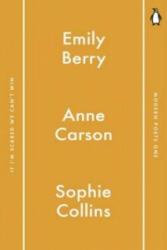 Penguin Modern Poets 1 - Anne Carson (2016)