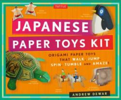 Japanese Paper Toys Kit (2016)