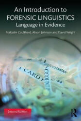 Introduction to Forensic Linguistics (ISBN: 9781138641716)