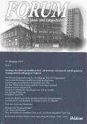 Forum fur Osteuropaische Ideen- Und Zeitgeschichte (ISBN: 9783838207223)