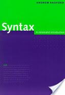 Andrew Radford - Syntax - Andrew Radford (ISBN: 9780521589147)