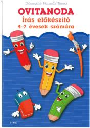 Ovitanoda - írás-előkészítő 4-7 éveseknek (ISBN: 9786155625329)