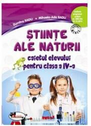 Stiinte ale naturii. Caietul elevului clasa a 4-a (ISBN: 9786067064759)