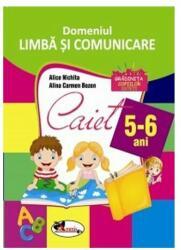 Domeniul Limbă și comunicare. Caiet pentru 5-6 ani (ISBN: 9786067062465)