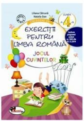 Culegere de exerciții pentru limba română Jocul cuvintelor Clasa a IV-a (ISBN: 9786067064728)