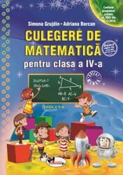 Culegere de matematică pentru clasa a IV-a (ISBN: 9786067064544)