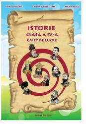 Istorie. Clasa a IV-a. Caiet de lucru (ISBN: 9786063600784)