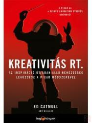 Kreativitás Rt (ISBN: 9789633043752)