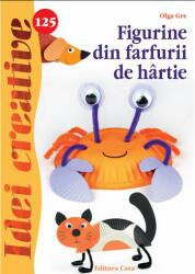 Figurine din farfurii de hârtie. Idei creative 125 (ISBN: 9786067870190)