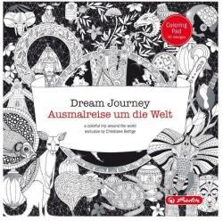 Felnőtt színező blokk - Utazás a világ körül (ISBN: 4008110547404)