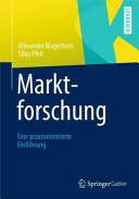 Marktforschung (ISBN: 9783658008901)