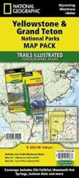 Yellowstone Grand Teton National Parks Map Pack: Topographic Trail Maps (ISBN: 9781597754002)