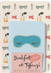 Breakfast at Tiffany's Notebooks (Set of 3) - Abrams Noterie (ISBN: 9781419724244)