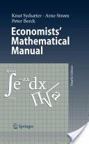Economists' Mathematical Manual (2009)
