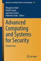 Advanced Computing and Systems for Security: Volume Four - Volume Four (ISBN: 9789811033902)