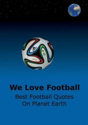 We Love Football - Adrian Adams (ISBN: 9789522869081)
