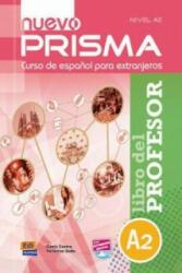 Prisma A2 Nuevo Libro del profesor + CD - Genis Castro Niubó, Verónica Seda (ISBN: 9788498483710)