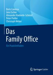 Das Family Office (ISBN: 9783658134679)