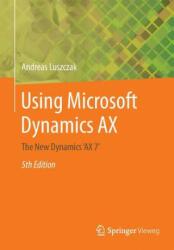 Using Microsoft Dynamics AX (ISBN: 9783658136215)