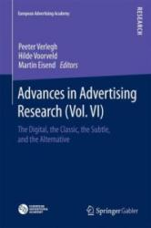 Advances in Advertising Research (ISBN: 9783658105570)
