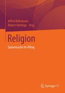 Religion (ISBN: 9783658027698)