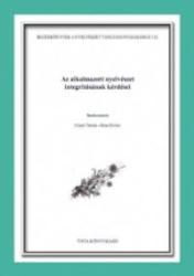 AZ ALKALMAZOTT NYELVÉSZET INTEGRITÁSÁNAK KÉRDÉSEI (ISBN: 9789639902572)