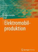 Elektromobilproduktion (ISBN: 9783642420214)