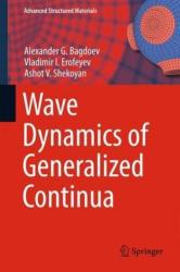 Wave Dynamics of Generalized Continua (ISBN: 9783642372667)