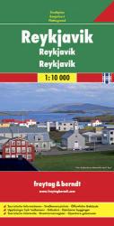 Reykjavík térkép / freytag & berndt (ISBN: 9783707909845)
