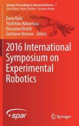 2016 International Symposium on Experimental Robotics (ISBN: 9783319501147)