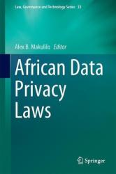 African Data Privacy Laws (ISBN: 9783319473154)