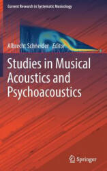 Studies in Musical Acoustics and Psychoacoustics (ISBN: 9783319472911)
