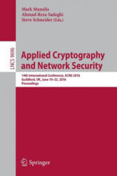 Applied Cryptography and Network Security (ISBN: 9783319395548)