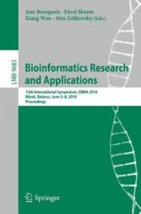 Bioinformatics Research and Applications - 12th International Symposium ISBRA 2016 Minsk Belarus June 5-8 2016 Proceedings (ISBN: 9783319387819)