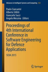 Proceedings of 4th International Conference in Software Engineering for Defence Applications (ISBN: 9783319278940)