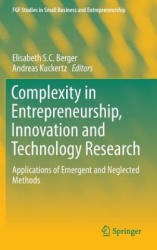 Complexity in Entrepreneurship, Innovation and Technology Research (ISBN: 9783319271064)