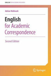 English for Academic Correspondence (ISBN: 9783319264332)