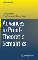 Advances in Proof-Theoretic Semantics (ISBN: 9783319226859)